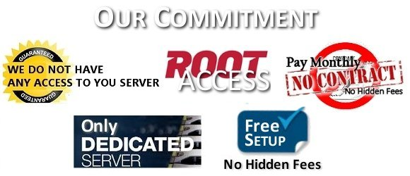 We use Dedicated Server not Virtual