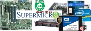 Server supermicro intel Xeon Core Duo